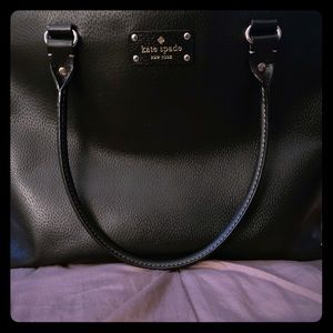 Kate Spade Fallon Wellesley Leather Tote.